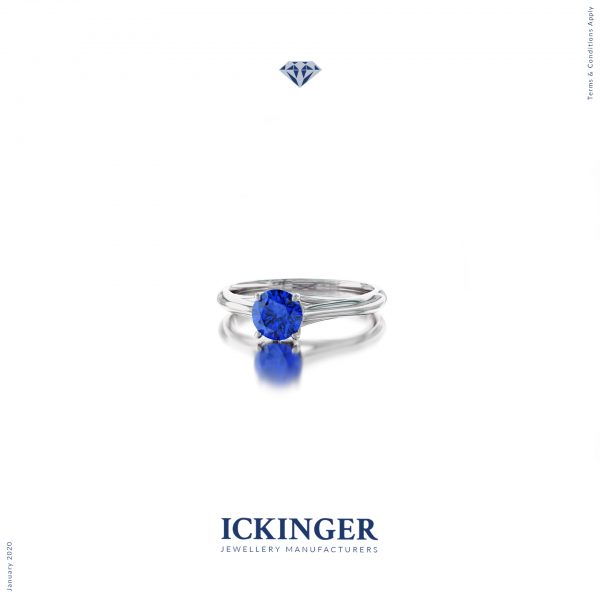 Sapphire Classic Engagement Ring