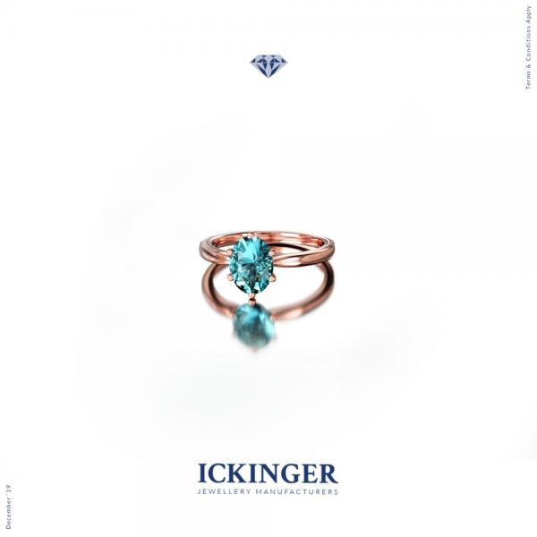 White Gold Morganite Halo Engagement Ring